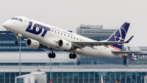 SP-LII - LOT - Polish Airlines Embraer ERJ-175 (170-200) aircraft