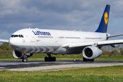 Lufthansa A330 visits Rennes title=