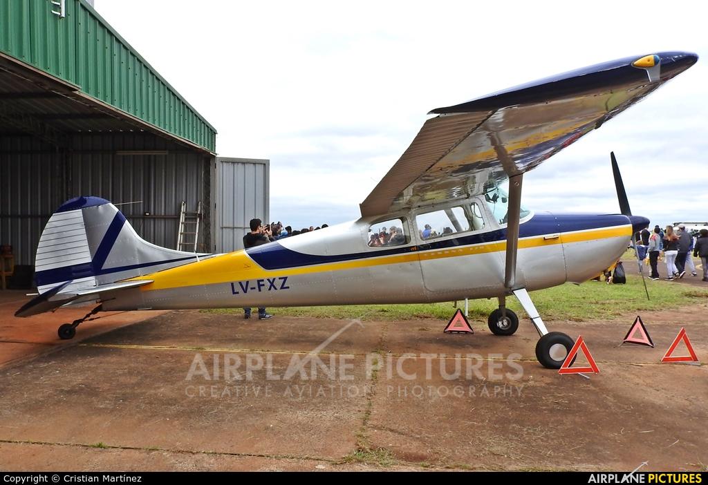 Private LV-FXZ aircraft at Posadas International