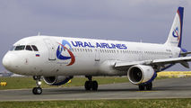 VQ-BKG - Ural Airlines Airbus A321 aircraft