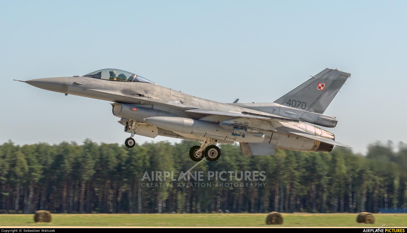 Poland - Air Force 4070 aircraft at Łask AB
