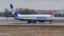 First 737-8 MAX for Belavia title=