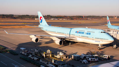 HL7404 - Korean Air Boeing 747-400