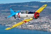 HB-RCN - Private North American Harvard/Texan (AT-6, 16, SNJ series) aircraft