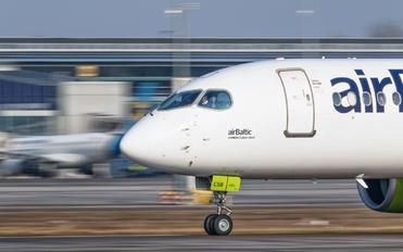 YL-CSB - Air Baltic Airbus A220-300