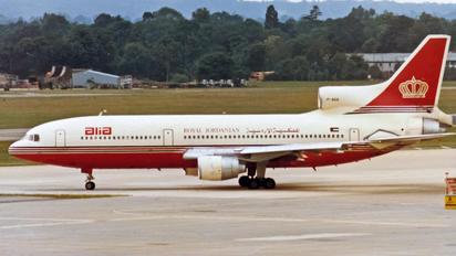 JY-AGA - Royal Jordanian Lockheed L-1011-500 TriStar