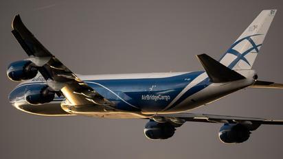 VP-BBY - Air Bridge Cargo Boeing 747-8F