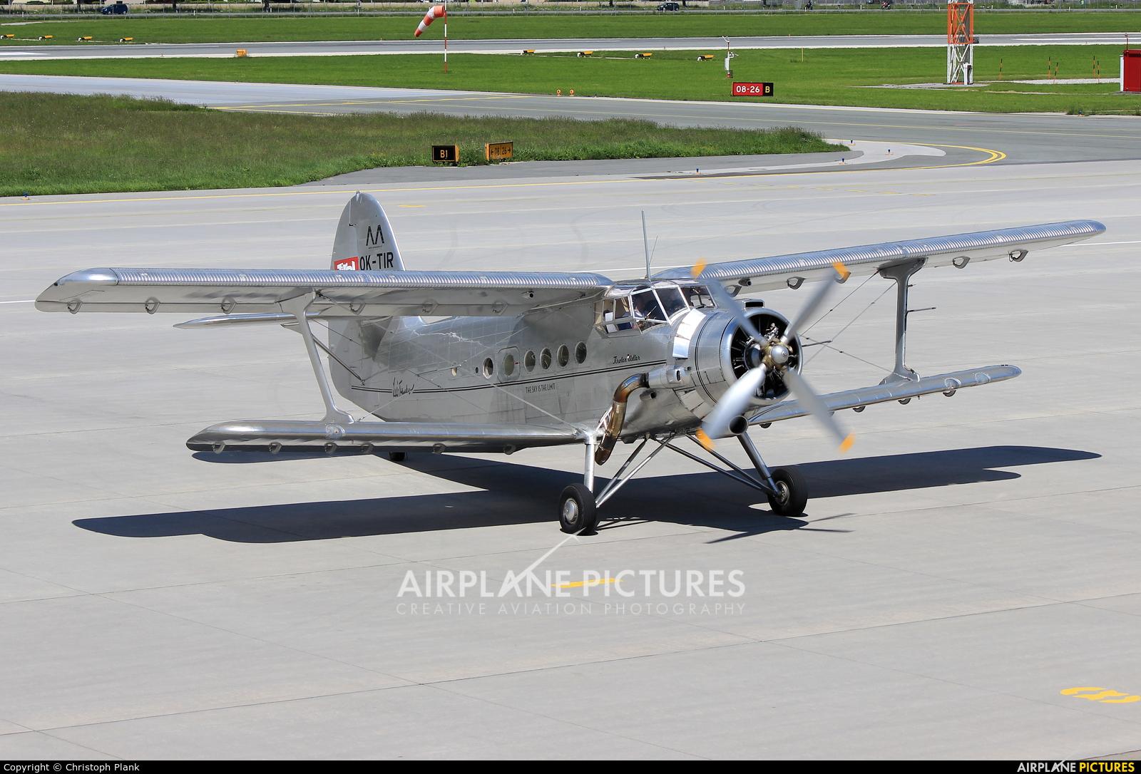 Tiroler Adler OK-TIR aircraft at Innsbruck