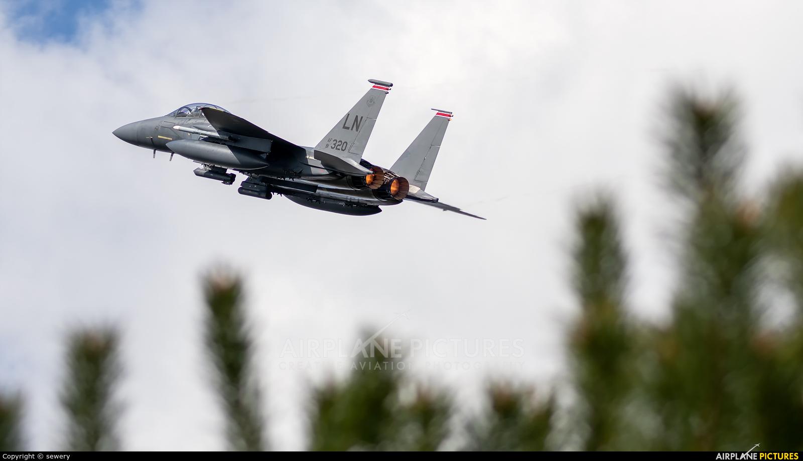 USA - Air Force 91-0320 aircraft at Łask AB