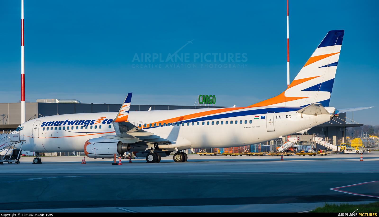 SmartWings HA-LKG aircraft at Katowice - Pyrzowice