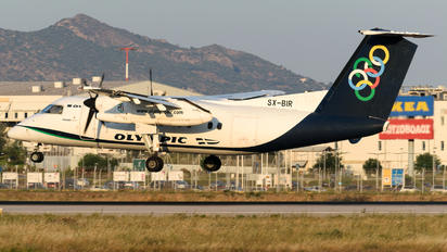SX-BIR - Olympic Airlines de Havilland Canada DHC-8-100 Dash 8