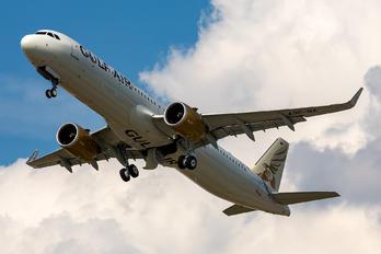 D-AYAR - Gulf Air Airbus A321 NEO