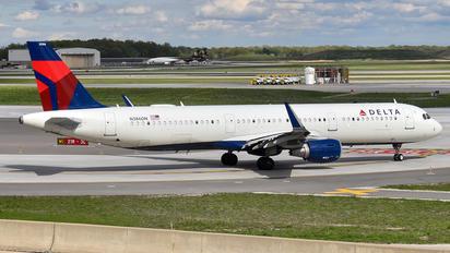 N386DN - Delta Air Lines Airbus A321