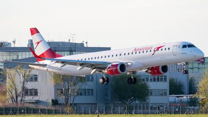 OE-LWO - Austrian Airlines/Arrows/Tyrolean Embraer ERJ-195 (190-200)