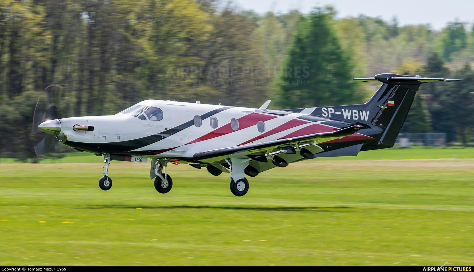 Private SP-WBW aircraft at Rybnik - Gotartowice