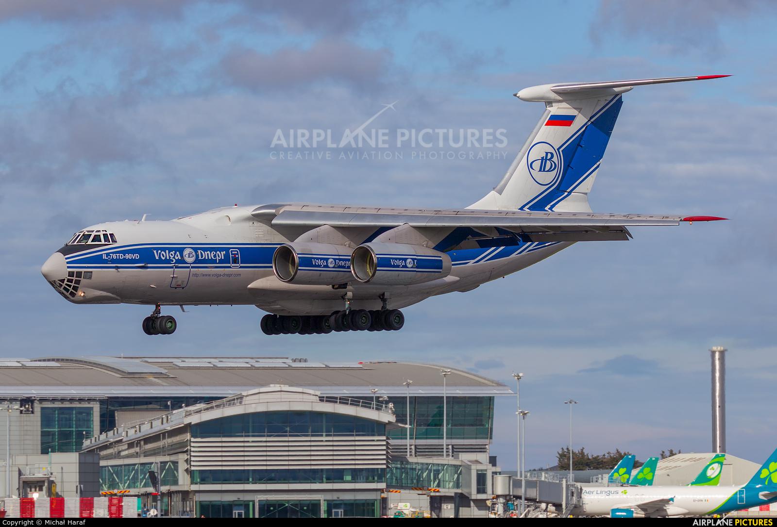 Volga-Dnepr RA-76952 aircraft at Dublin