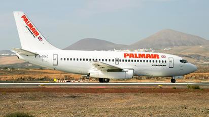 G-CEAC - Palmair Boeing 737-200