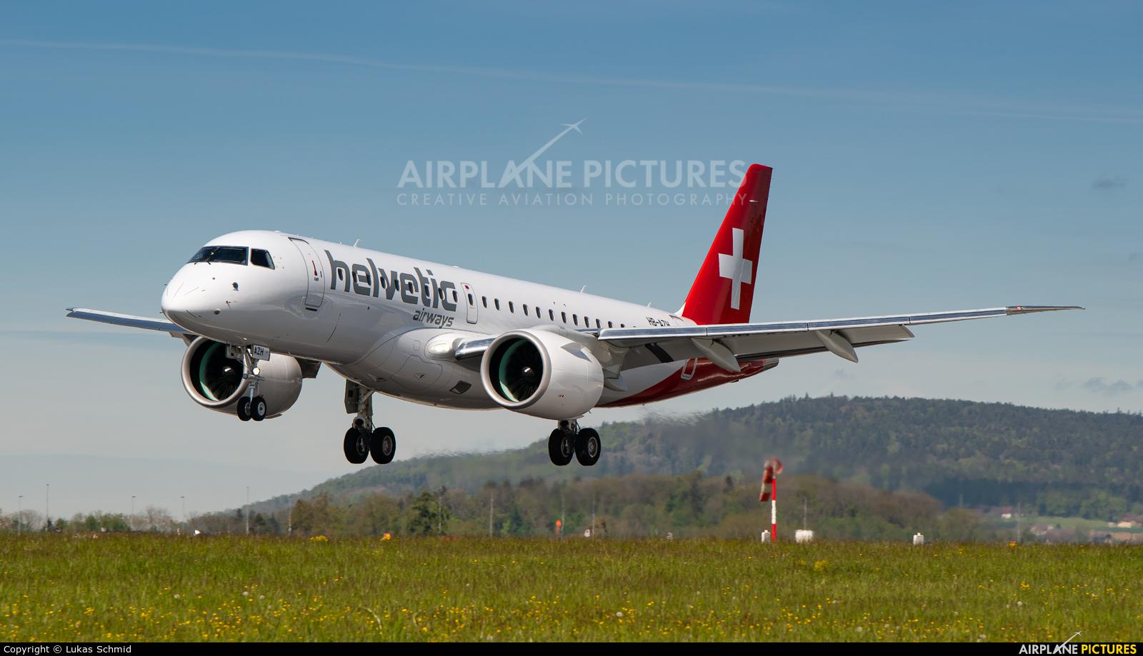 Helvetic Airways HB-AZH aircraft at Zurich