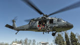 Poland - Police Sikorsky S-70I Blackhawk SN-71XP at Nowy Targ Airport airport