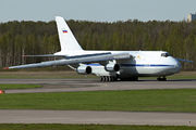 Russian AF An-124 at St. Petersburg title=