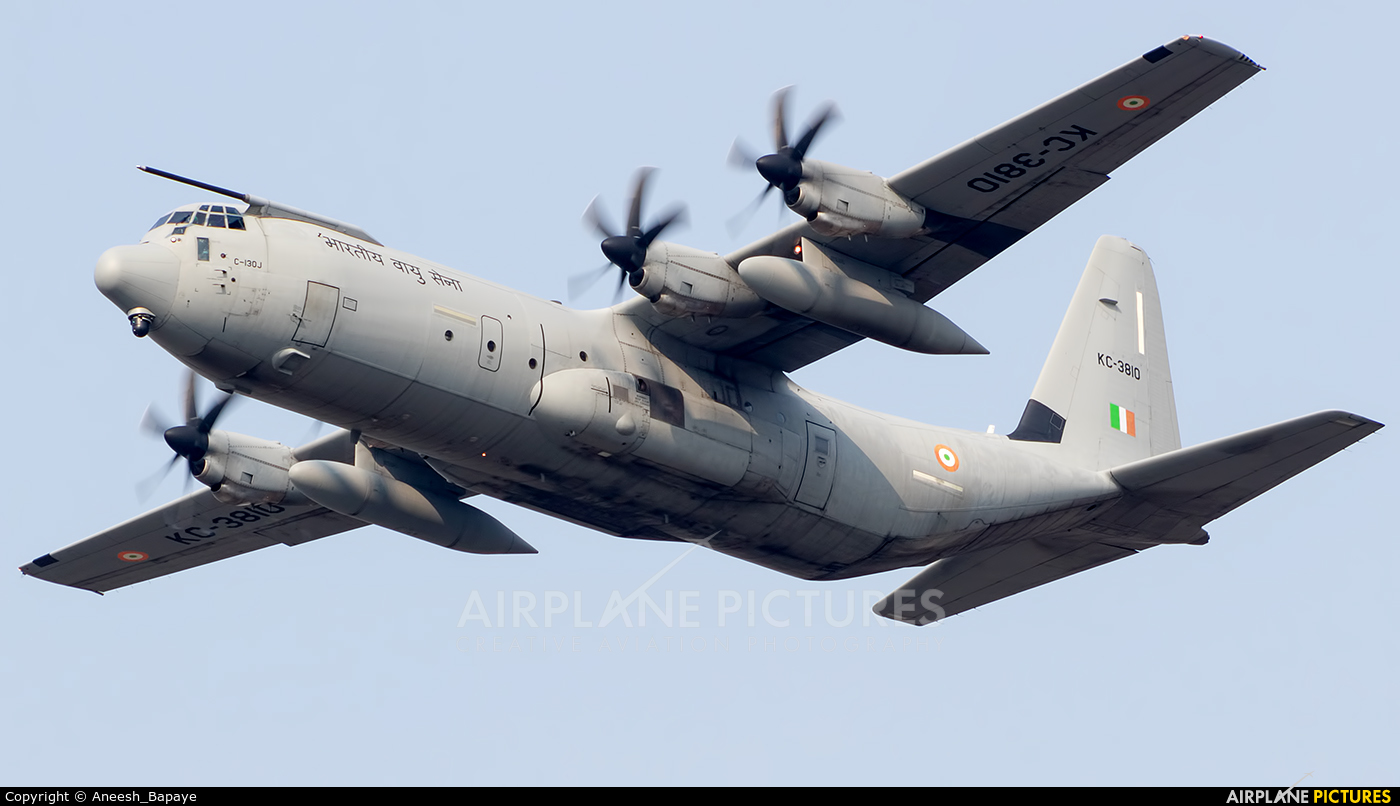 India - Air Force KC-3810 aircraft at Mumbai - Chhatrapati Shivaji Intl
