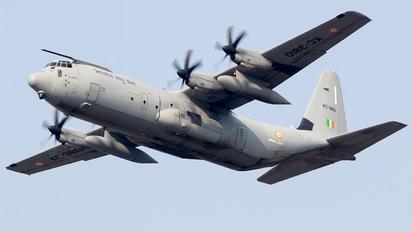 KC-3810 - India - Air Force Lockheed C-130J Hercules