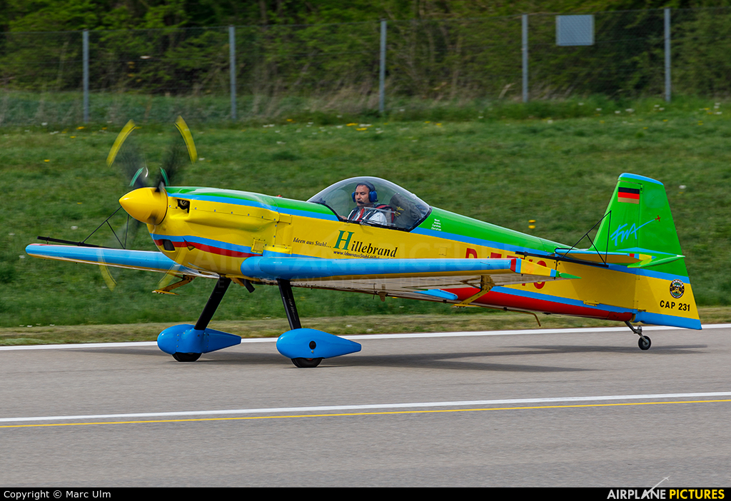 Private D-EFYS aircraft at Augsburg