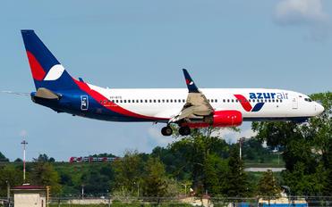 VP-BYD - AzurAir Boeing 737-800