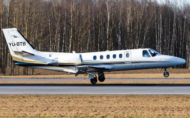 YU-BTB - Private Cessna 550 Citation Bravo