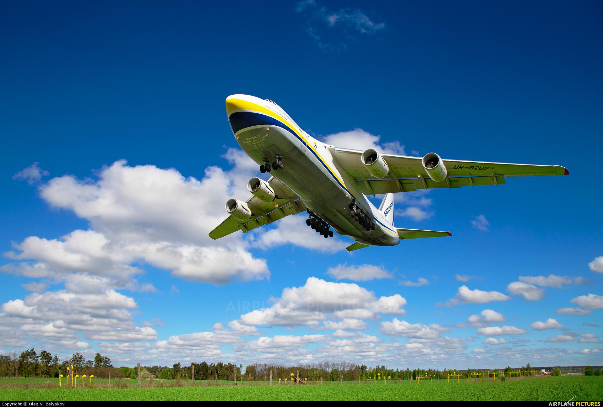 Antonov Airlines /  Design Bureau UR-82027 aircraft at Kyiv - Gostomel