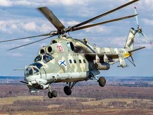 RF-34197 - Russia - Navy Mil Mi-24VP
