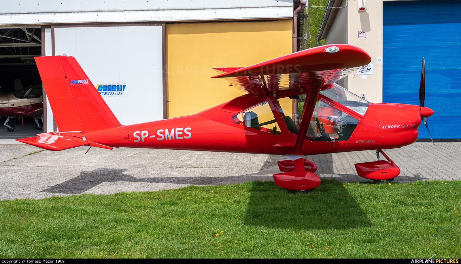 Private SP-SMES aircraft at Rybnik - Gotartowice