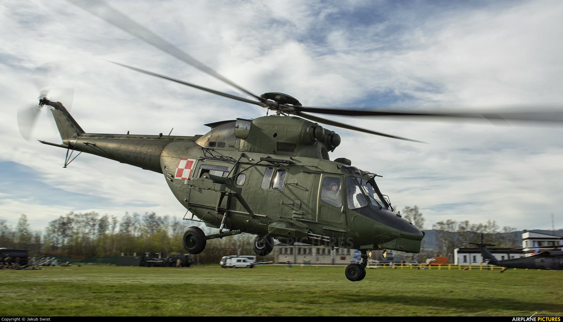 Poland - Air Force 0807 aircraft at Nowy Targ Airport