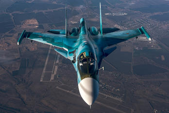 #1 Russia - Air Force Sukhoi Su-34 RF-95848 taken by Alexander Beltyukov