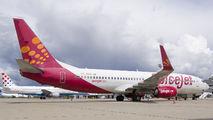 SpiceJet 737-800 visited Zagreb title=