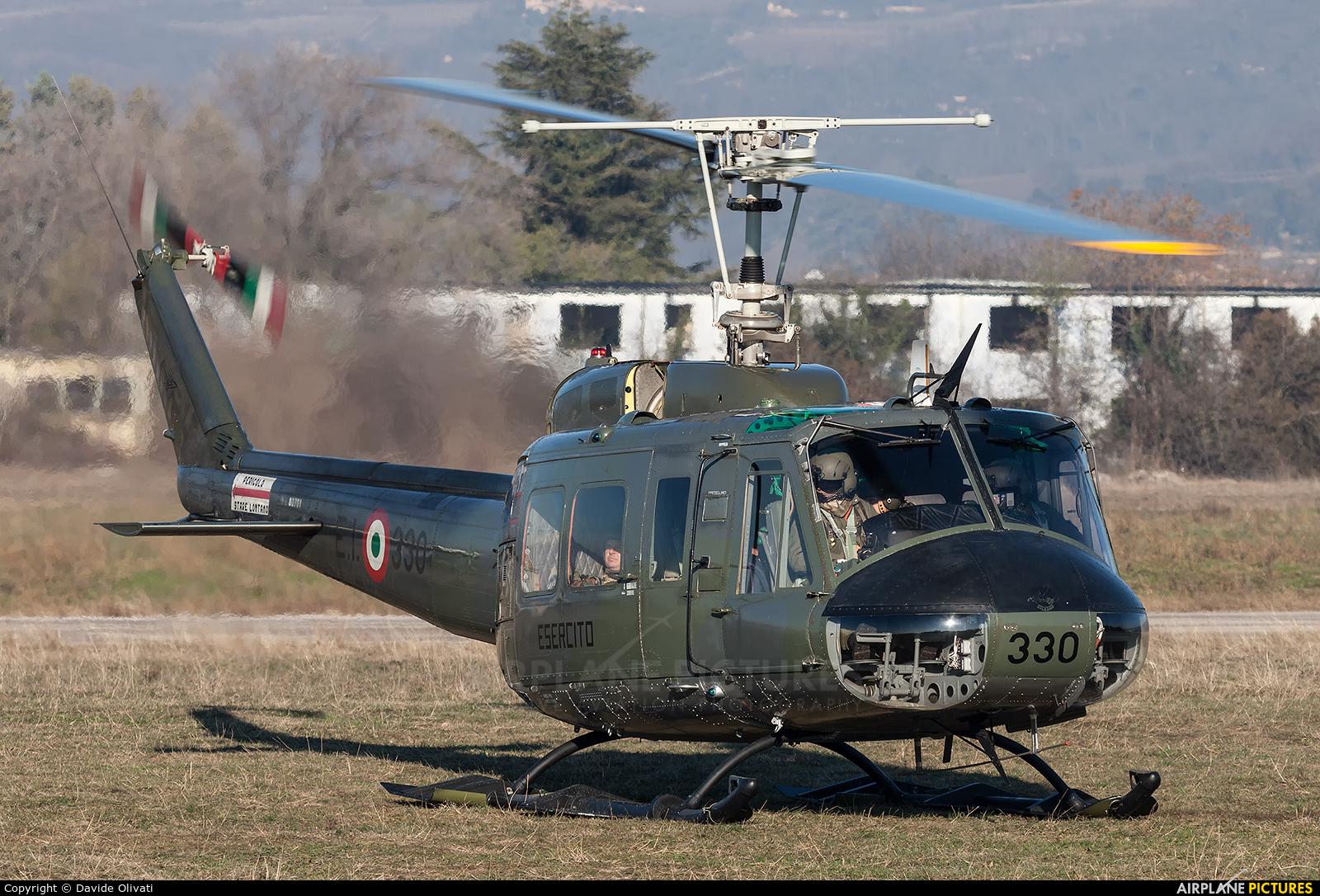 Italy - Army MM80701 aircraft at Verona - Boscomantico
