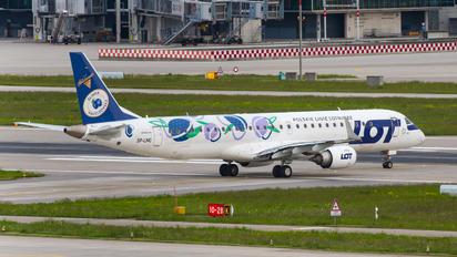 SP-LNC - LOT - Polish Airlines Embraer ERJ-190 (190-100)