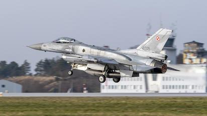 4071 - Poland - Air Force Lockheed Martin F-16C block 52+ Jastrząb
