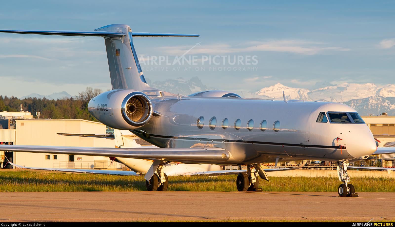 DC Aviation D-ADCL aircraft at Zurich