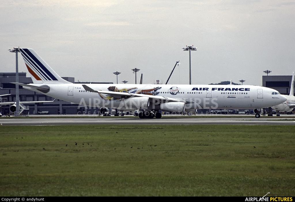 Joon F-GLZK aircraft at Singapore - Changi