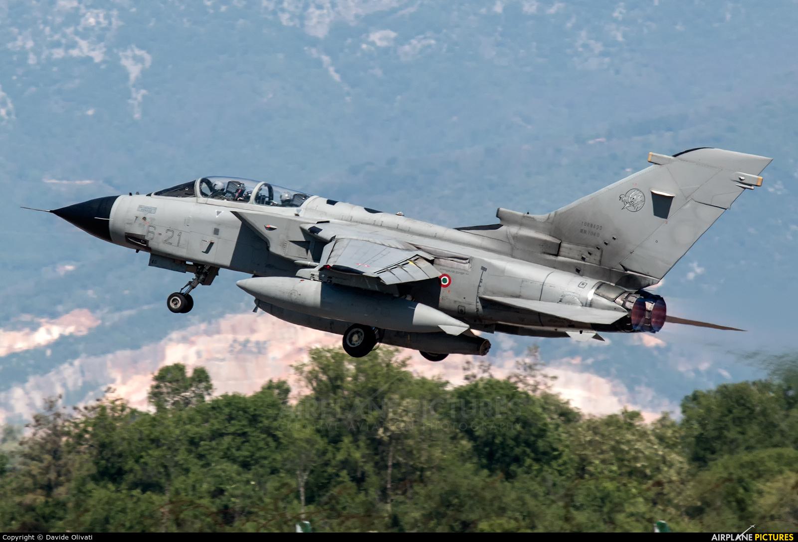 Italy - Air Force MM7040 aircraft at Ghedi