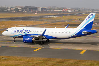 VT-IJE - IndiGo Airbus A320 NEO