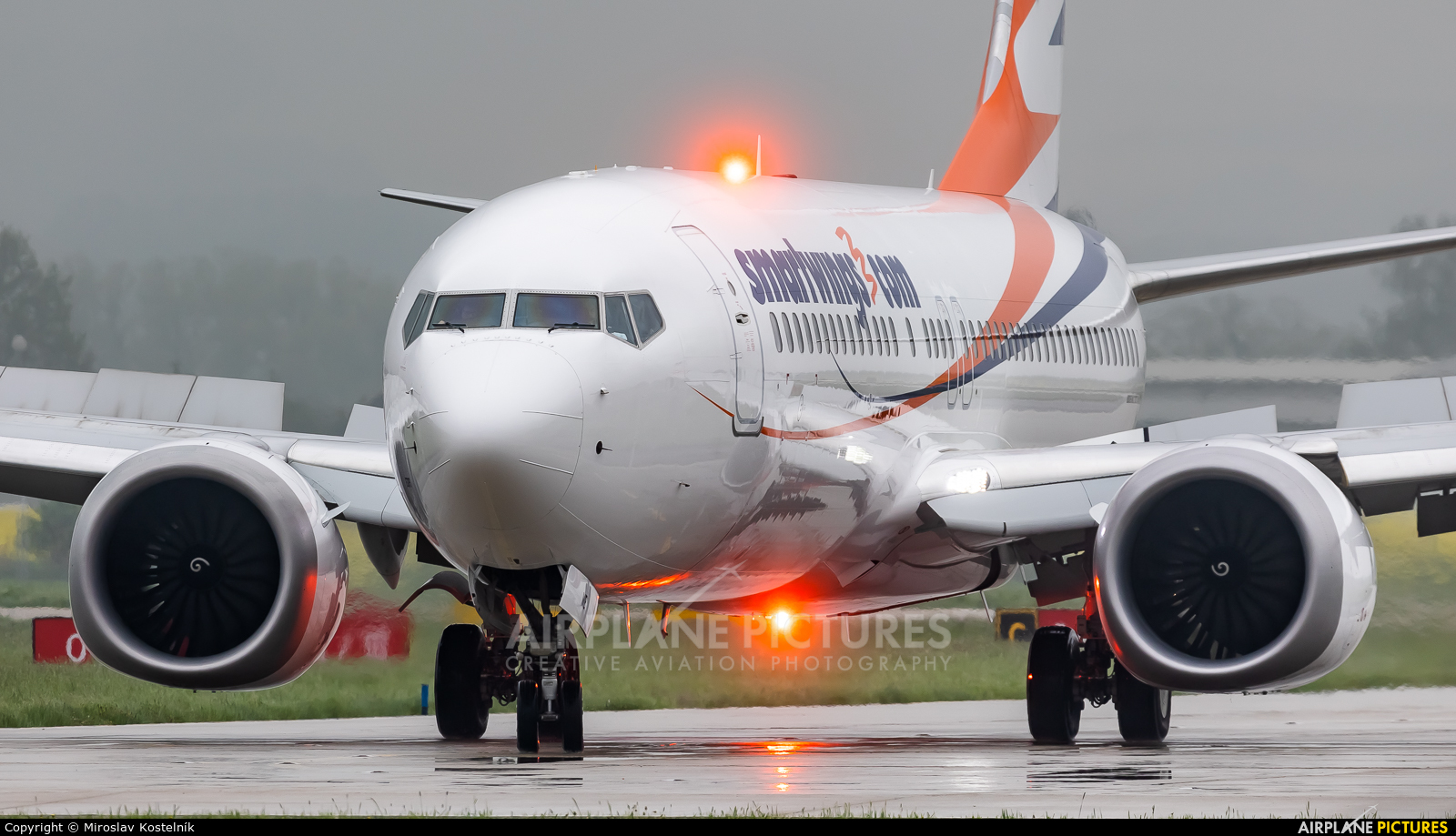 SmartWings OK-SWE aircraft at Ostrava Mošnov