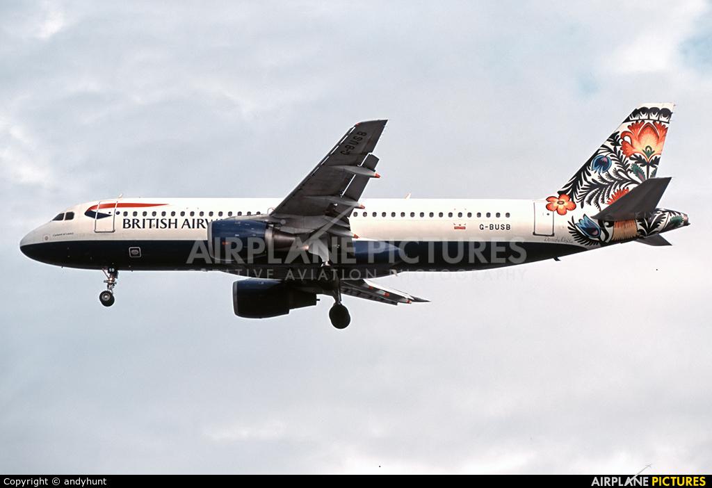 British Airways G-BUSB aircraft at London - Heathrow