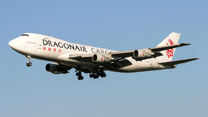 B-KAD - Dragonair Cargo Boeing 747-200F