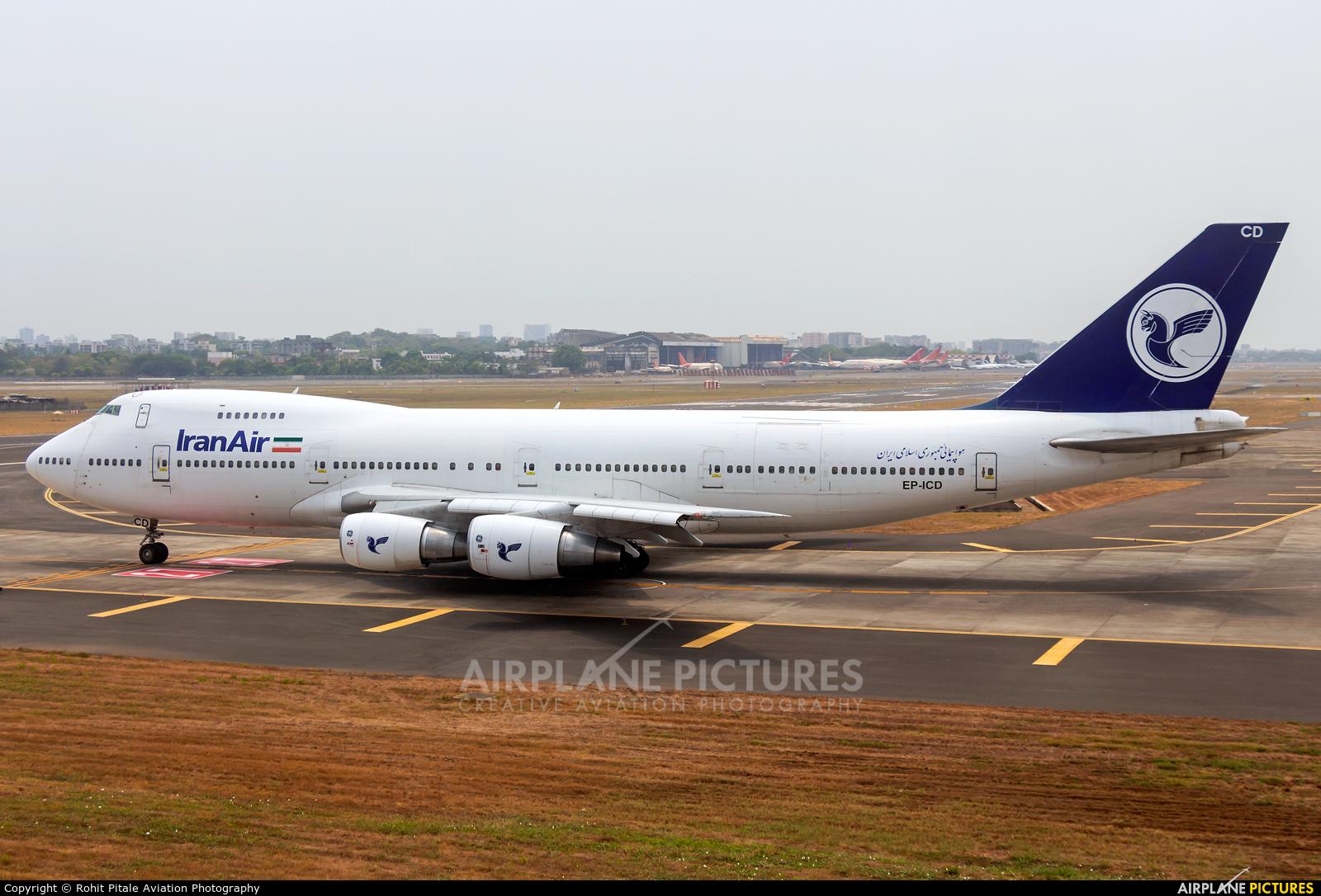 Iran Air Cargo EP-ICD aircraft at Mumbai - Chhatrapati Shivaji Intl
