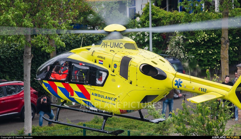 ANWB Medical Air Assistance PH-UMC aircraft at Off Airport - Netherlands