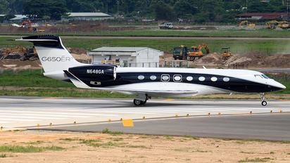 N648GA - Gulfstream Aerospace Service Corp Gulfstream Aerospace G650, G650ER