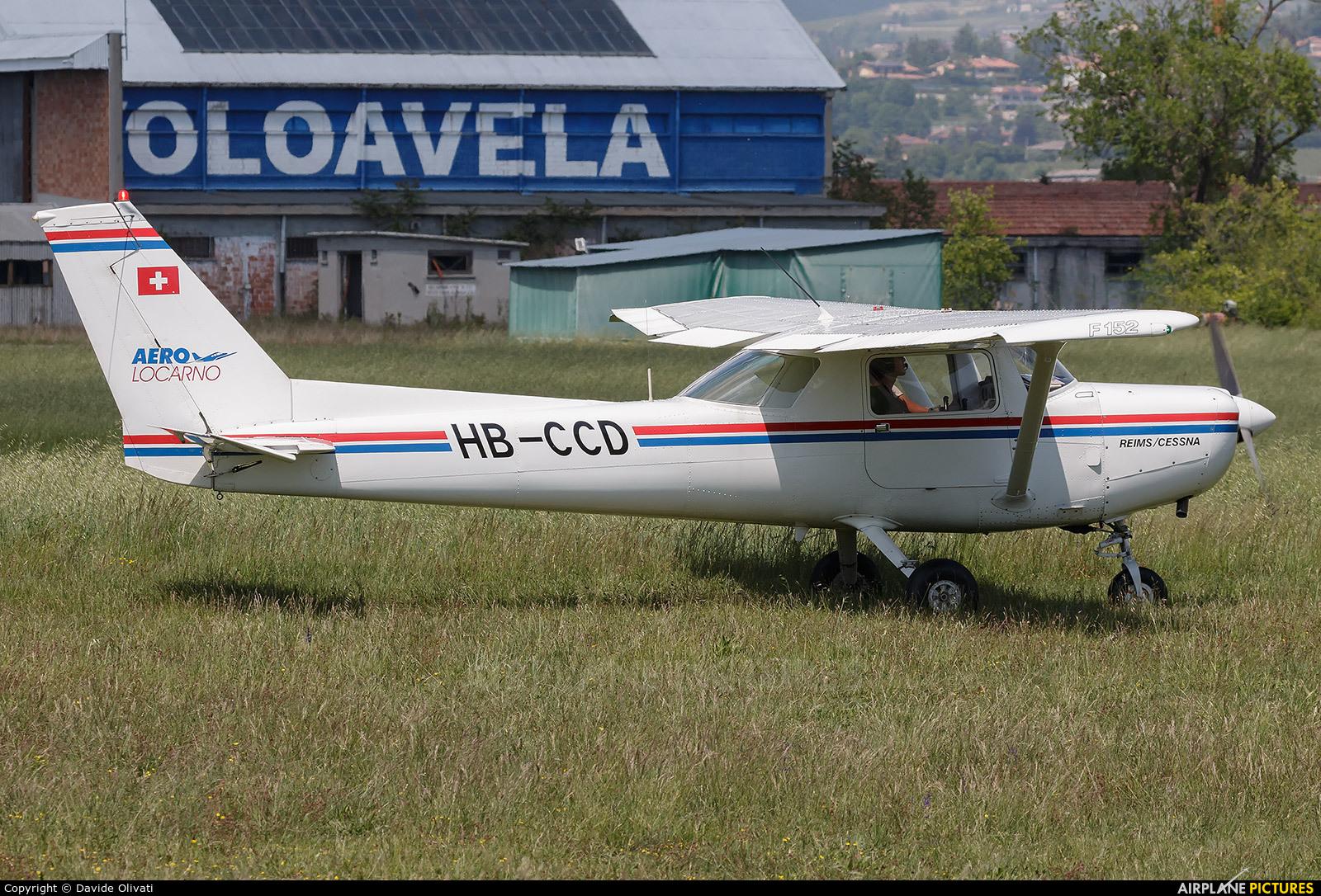 Private HB-CCD aircraft at Verona - Boscomantico