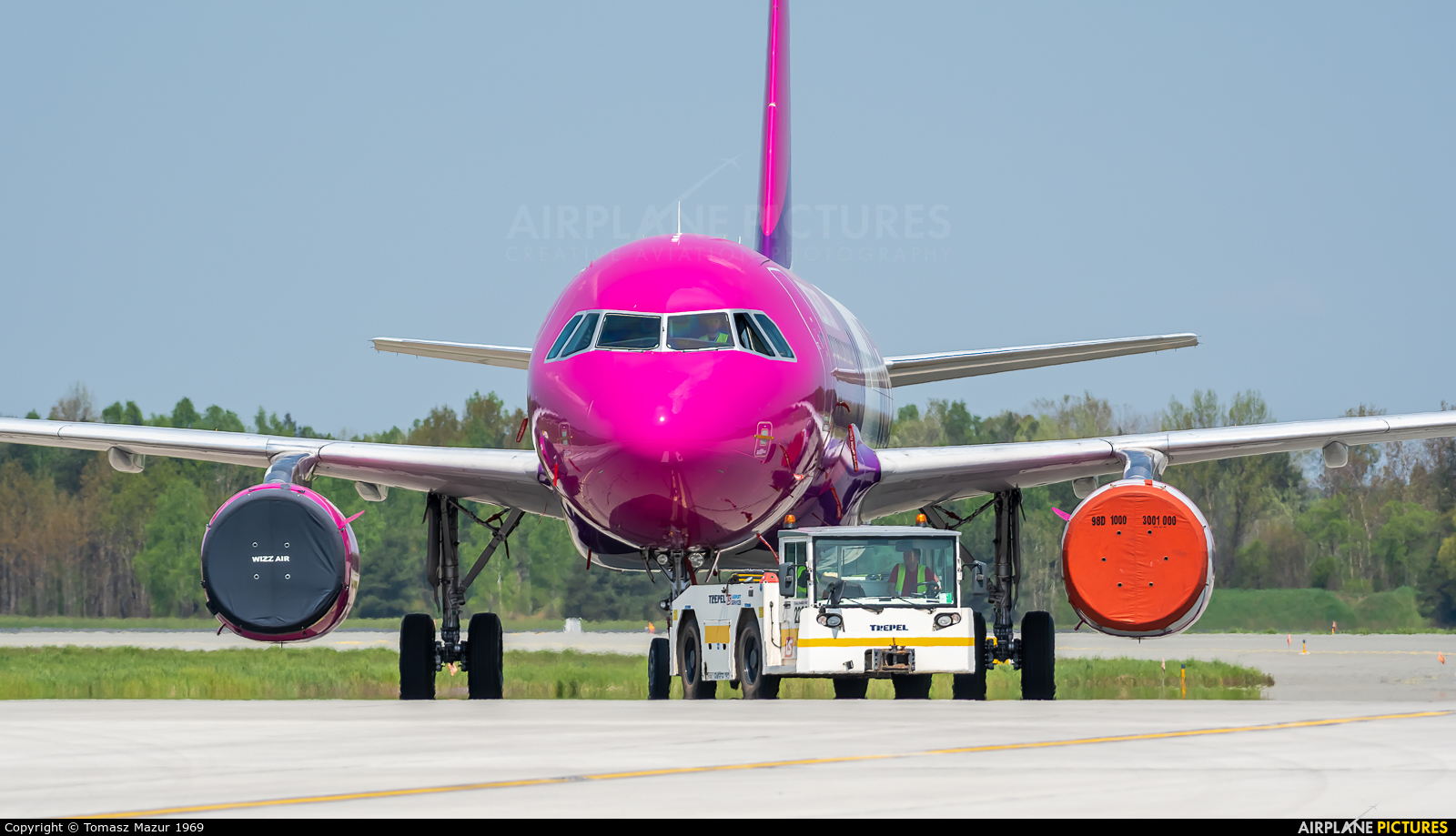 Wizz Air HA-LPO aircraft at Katowice - Pyrzowice